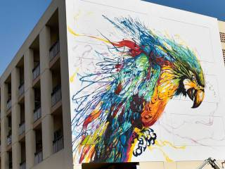 Watch: A look at Karama's graffiti art