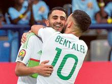 Mane and Mahrez on target at Nations Cup