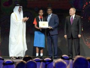 Zayed Future Energy Prize honoured in Abu Dhabi