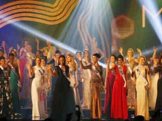 Miss Universe beauties take over catwalk