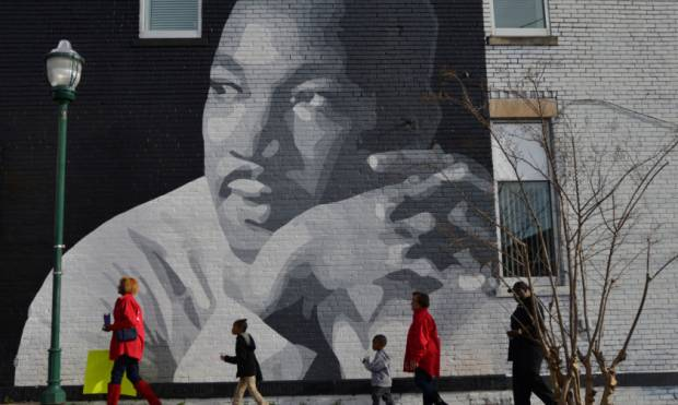 US honours Martin Luther King Jr.