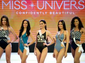 Miss Universe contestants stand out in swimwear
