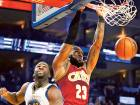 Green leaves Cavaliers blue as Warriors cruise