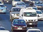 Cars changing lanes on Shaikh Mohammad Bin Zayed Road.Changing lanes without indication is a major cause of accidents