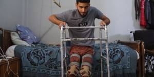 NGO offers lifeline for wounded refugee children