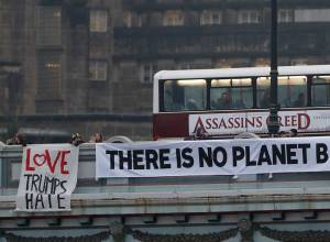 Pictures: Anti-Trump protests around the world