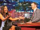 Priyanka Chopra on Jimmy Kimmel's show