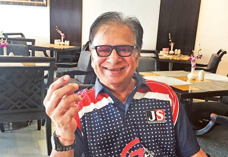 'I had a healthy competition with Kapil Dev'