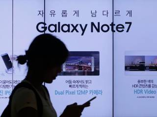 Note 7 fires: Samsung blames batteries