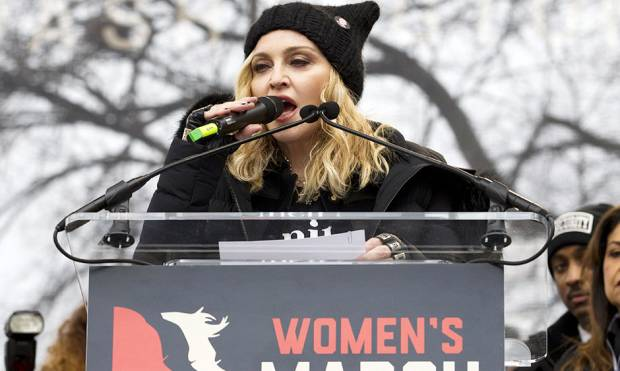 Pictures: A-list celebs join anti-Trump rallies