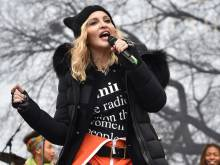 Madonna defends her anti-Trump speech at march