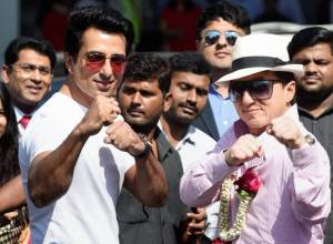 Jackie Chan arrives in Mumbai for 'Kung Fu Yoga'