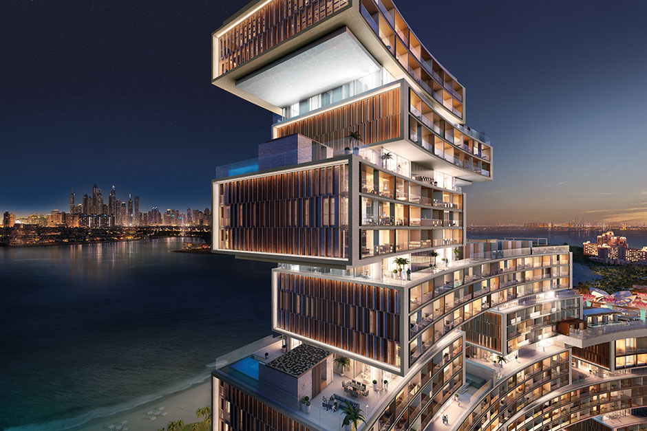 Royal Atlantis Residences designed by KPF Associates