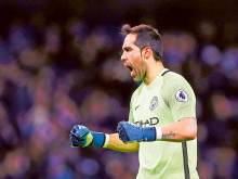 City keeper Bravo ruptures Achilles tendon