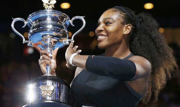 Pics: Serena beats Venus to win Australian Open