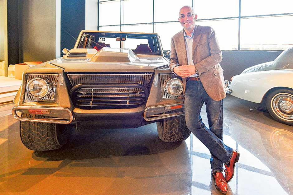 A Dubai car showroom where value is in the old | Gulfnews.com