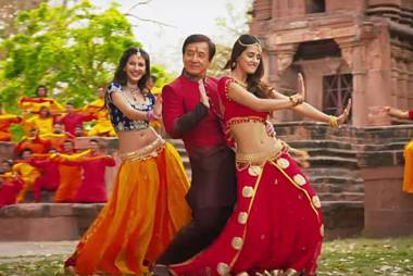 Jackie Chan's 'Kung Fu Yoga' film review