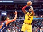 LeBron jaw-dropper, Irving's grit spark Cavs win