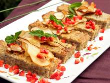 Recipe: Hazelnut and pear loaf