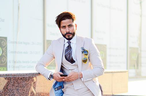 Trendy guy spotted in UAE: Keith Khan
