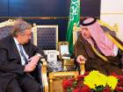 Saudi Prince holds security talks with CIA chief