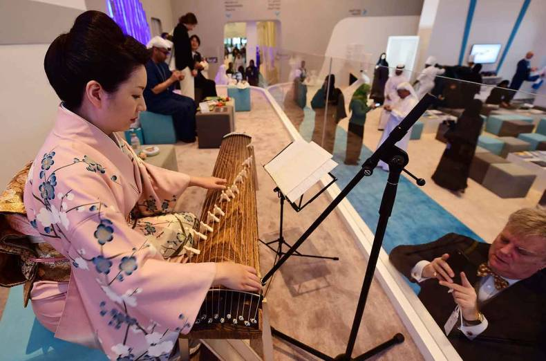 a-japanese-artist-performs-during-the-world-government-summit