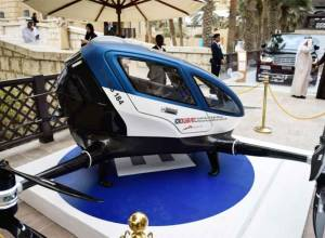 Flying cars to transport people in Dubai soon