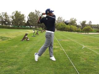 Dubai based golf prodigy turns heads on the link