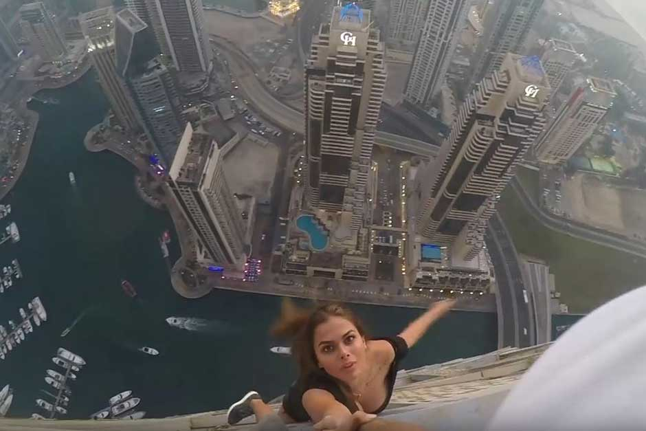 Cayan Group slams Russian model's daredevil act