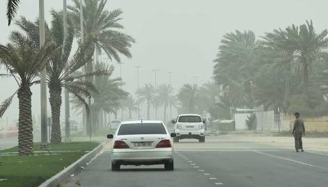 Pictures: Dust envelops most parts of UAE