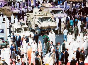 UK sells defence industry to GCC 'friends'