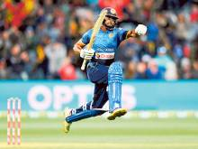 Gunaratne fireworks seal T20 series for Lanka