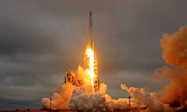 SpaceX launches rocket with cargo for ISS crew