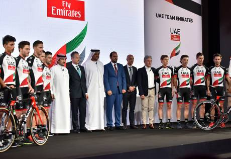 Team UAE set to fly high with Emirates