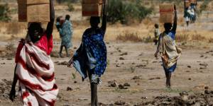 Pictures: Famine strikes South Sudan
