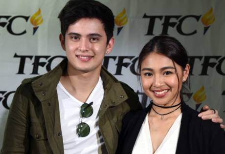 JaDine back in Dubai for a performance