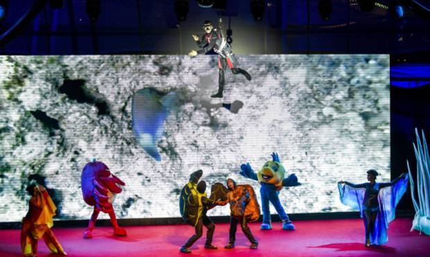 Sharjah Fish Carnival recreates underwater world