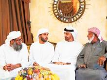 Mohammad Bin Zayed visits martyrs' homes