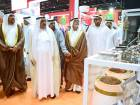 (center) Shaikh Hamdan Bin Rashid Al Maktoum Deputy Ruler of Dubai and Minister of Finance during the Opening ceremony of Gulfood 2017 ,which is span more than 1 million square feet of exhibition space  at the Dubai World Trade Centre.