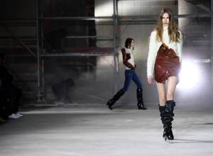Anthony Vaccarello presents sophomore collection
