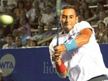 Kyrgios becomes youngest to beat 'Big Five'