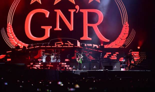 Guns N' Roses band return to the UAE