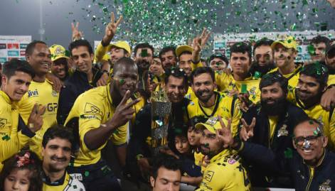 In pictures: Peshawar Zalmi win PSL