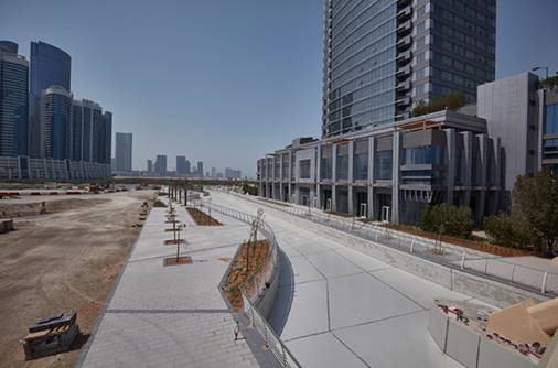 New water canal in the making in UAE