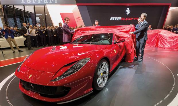 Check out new cars unveiled in Geneva