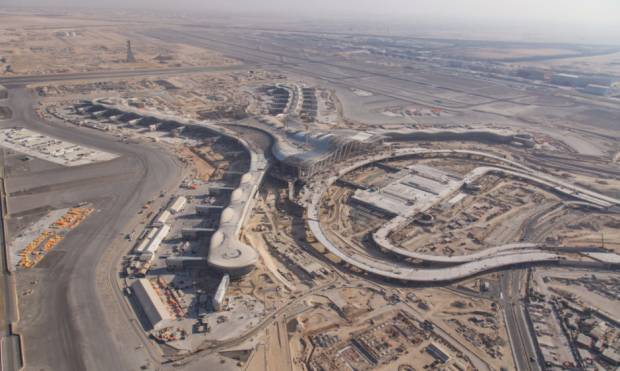 Massive development at Abu Dhabi airport