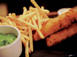 Recipe: Fish and chips with tartare sauce