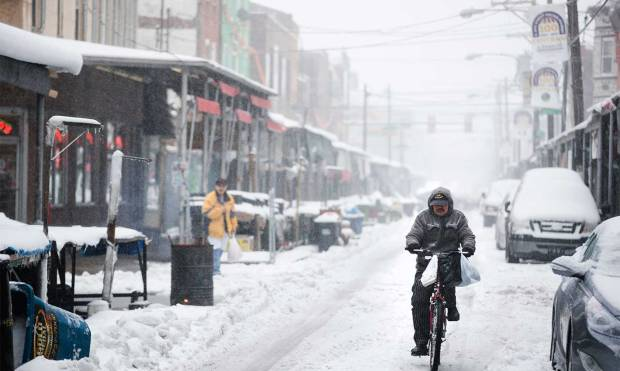 Blizzard hits north-eastern United States