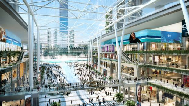 Dubai's next big mall gets into project mode