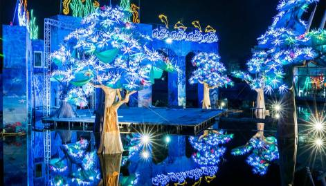 Pics: The magical world of Dubai Garden Glow